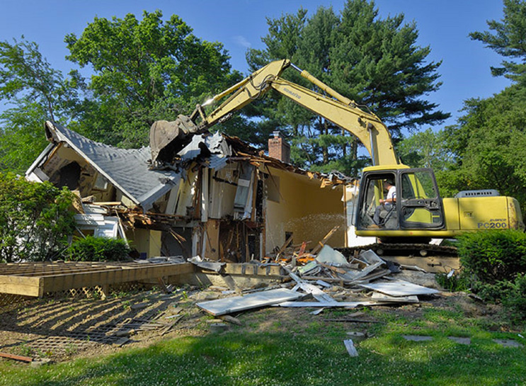 Tearing down your home