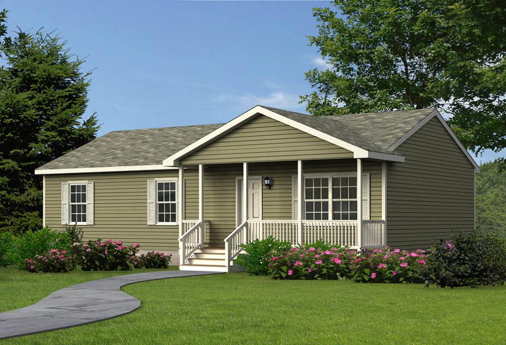 ranch modular home monroe style