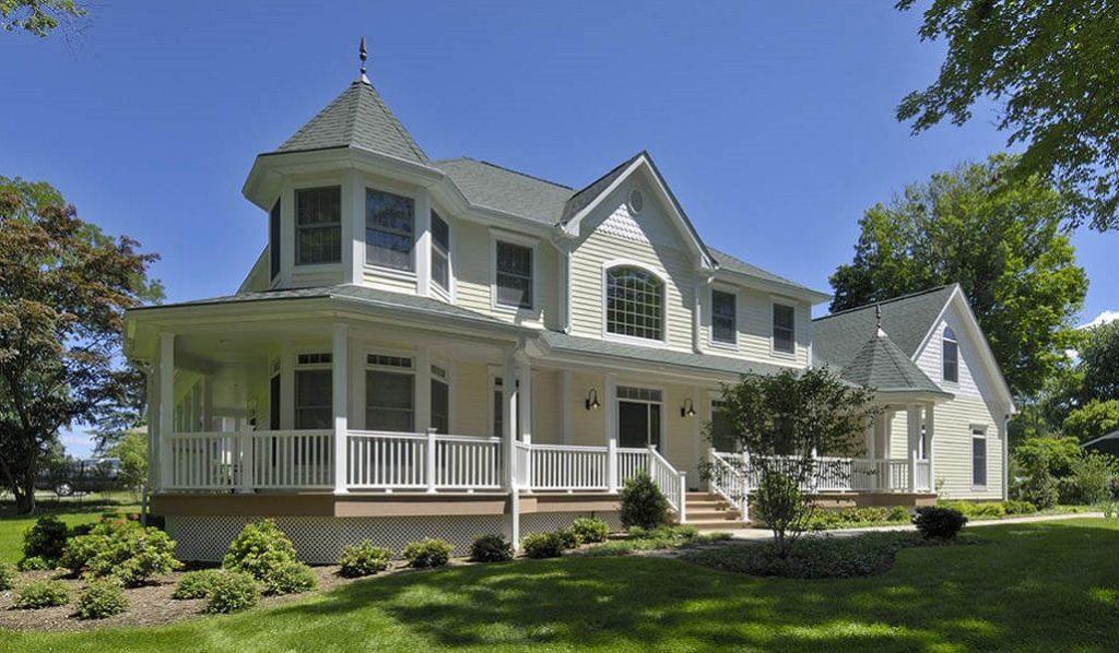 Custom Colonial Modular Home 1