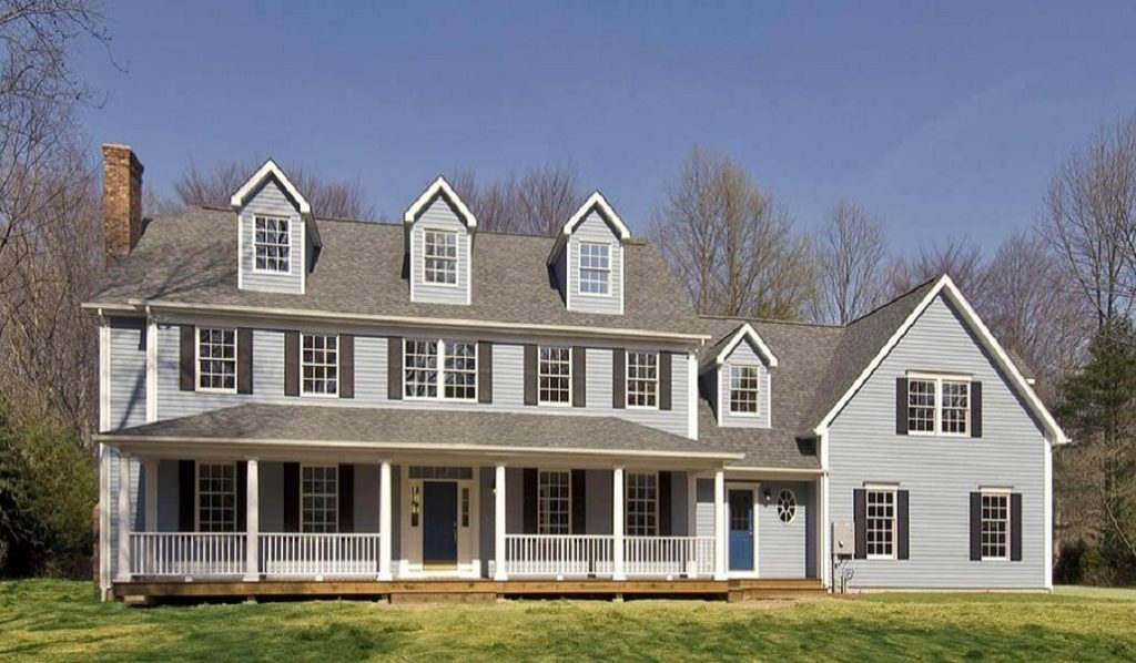 Custom Colonial Modular Home 3