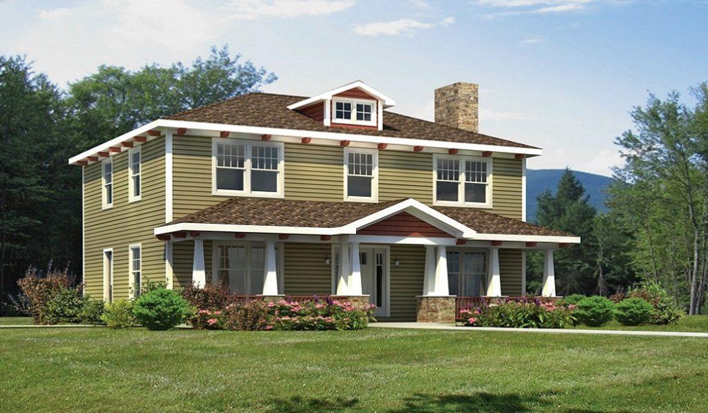 Durham Colonial Modular Home