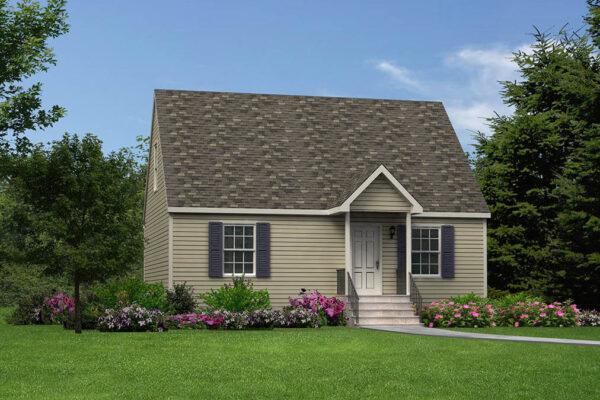 cape style modular home